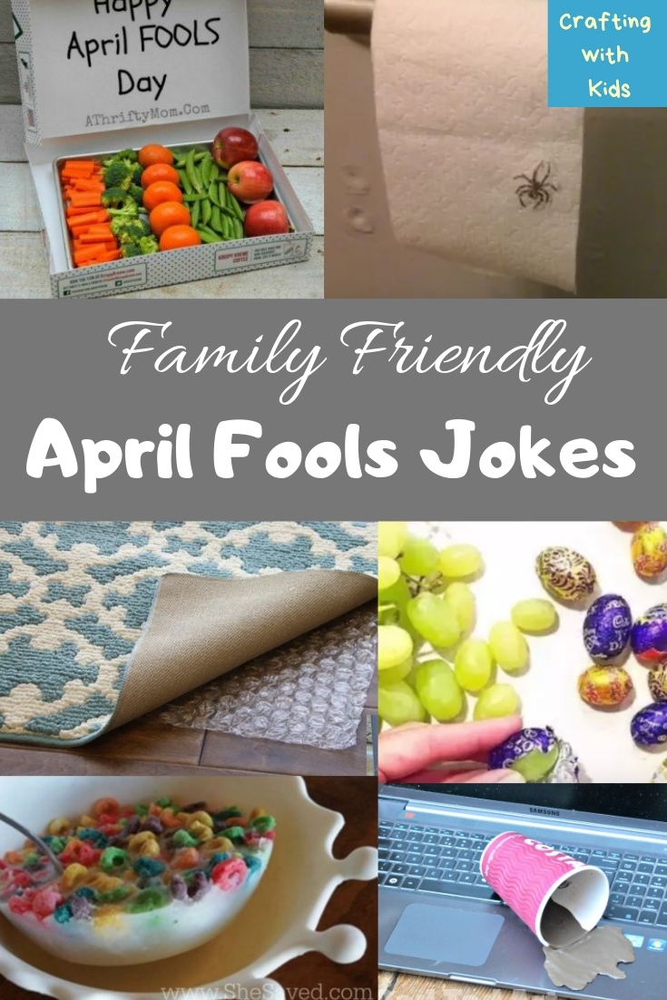 Family Friendly April Fools Pranks for Kids