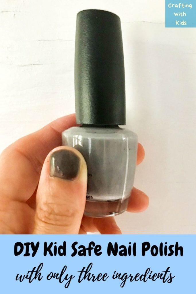 DIY kid safe nail polish