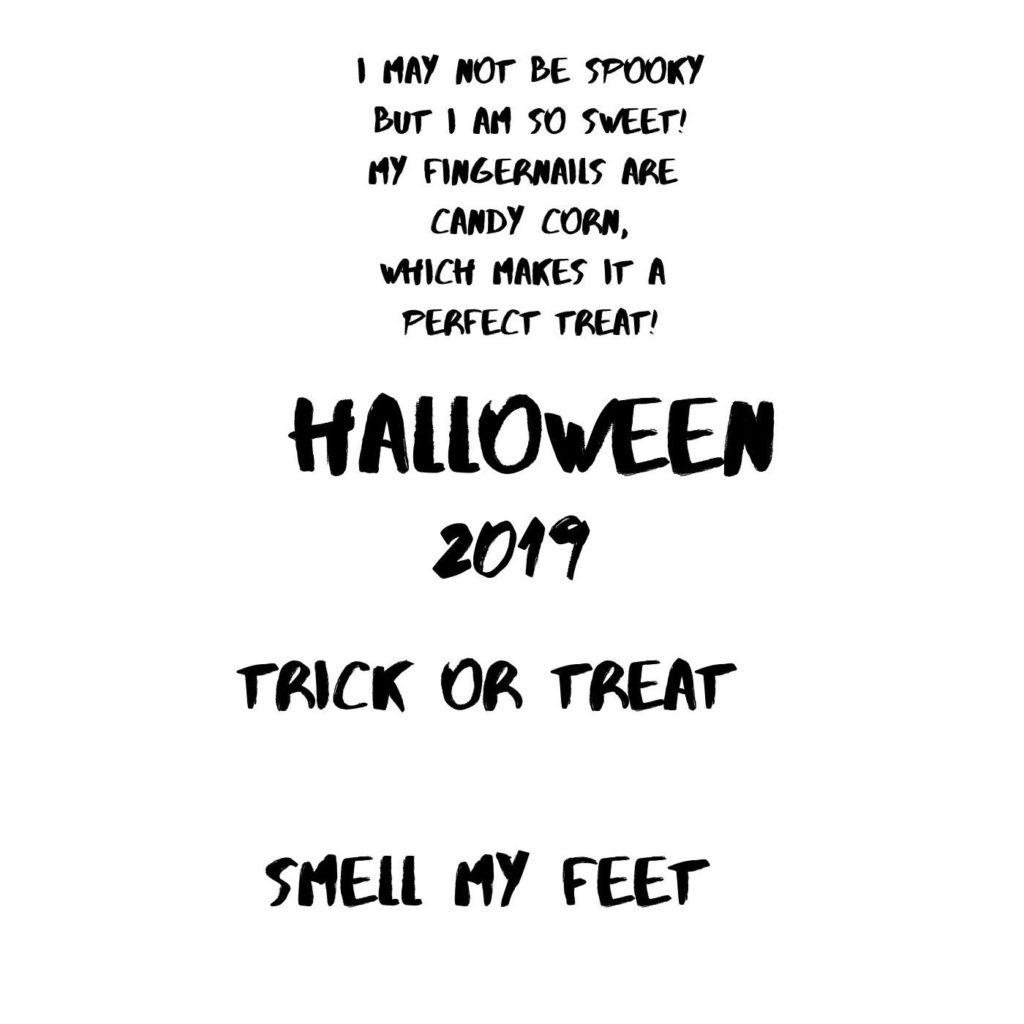Free Halloween Saying printables