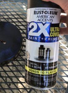 spray paint for piggy bank