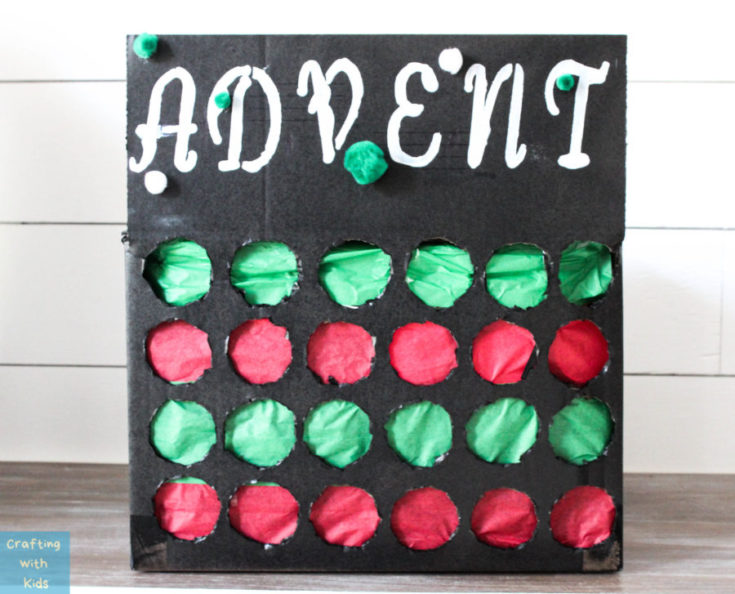 HOW TO MAKE AN ADVENT CALENDAR SURPRISE PUNCH BOX