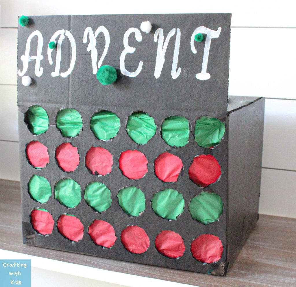Advent Calendar Punch box