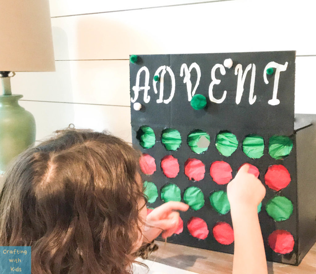Advent Calendar Punch box