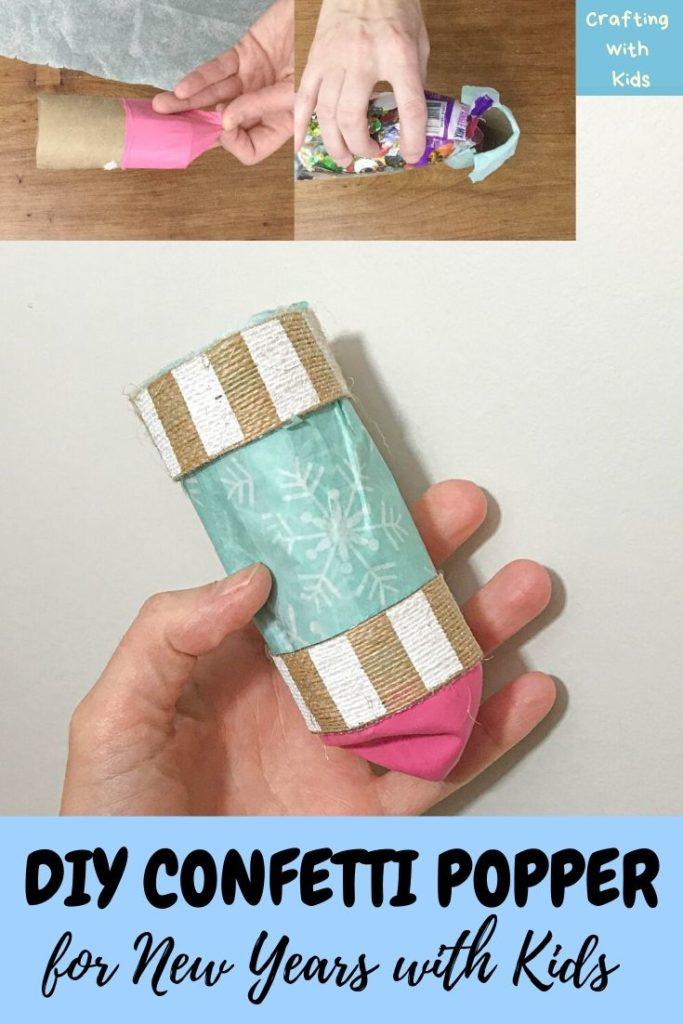 DIY confetti popper or confetti cannon