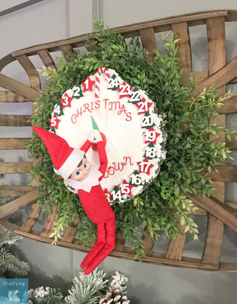 Elf on the Shelf Christmas countdown