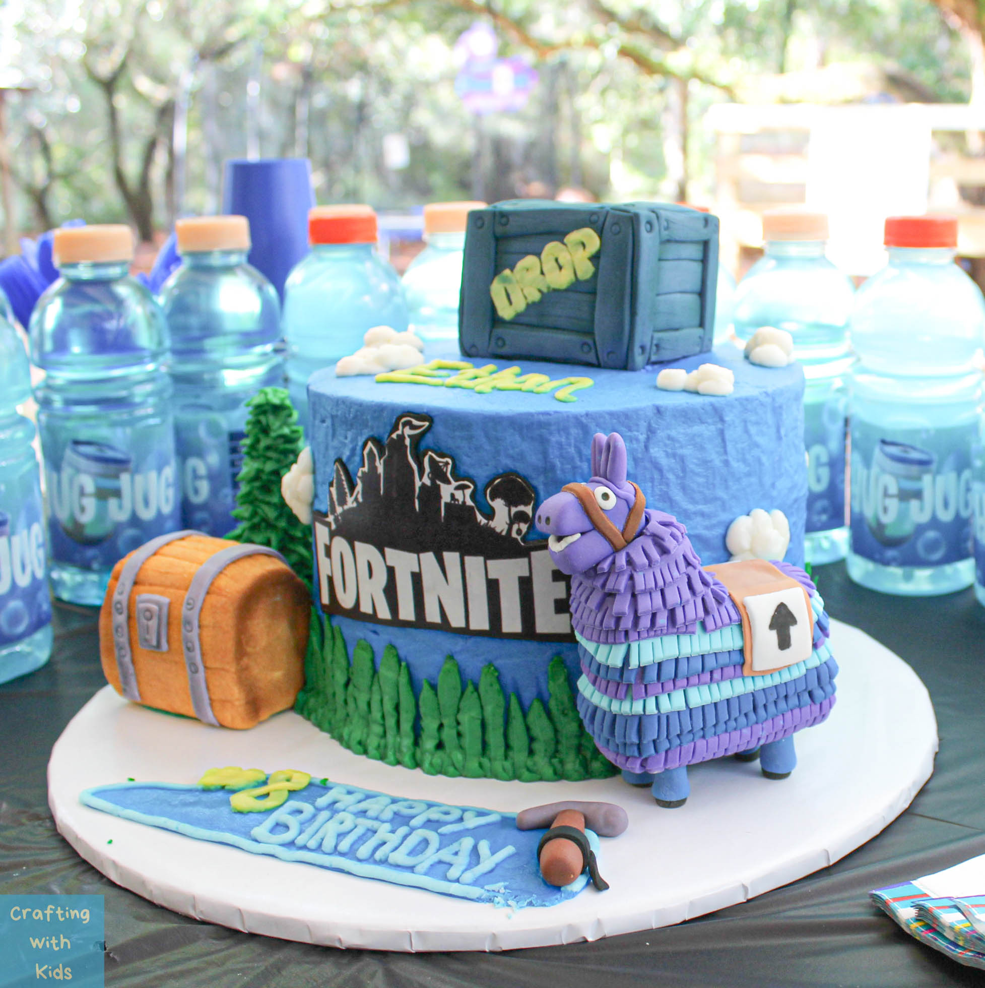 Fortnite birthday party