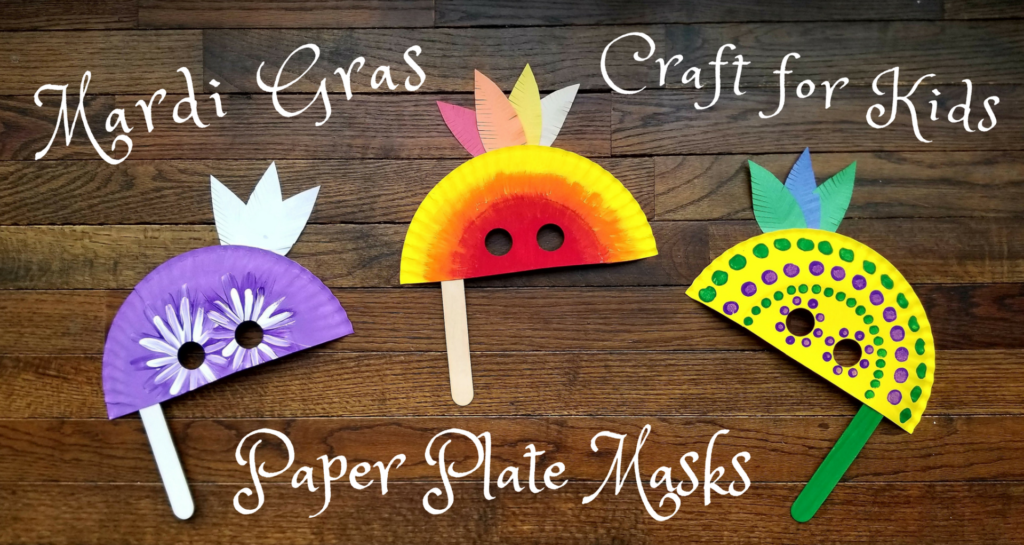 Fun Mardi Gras Crafts and Activities for Kids