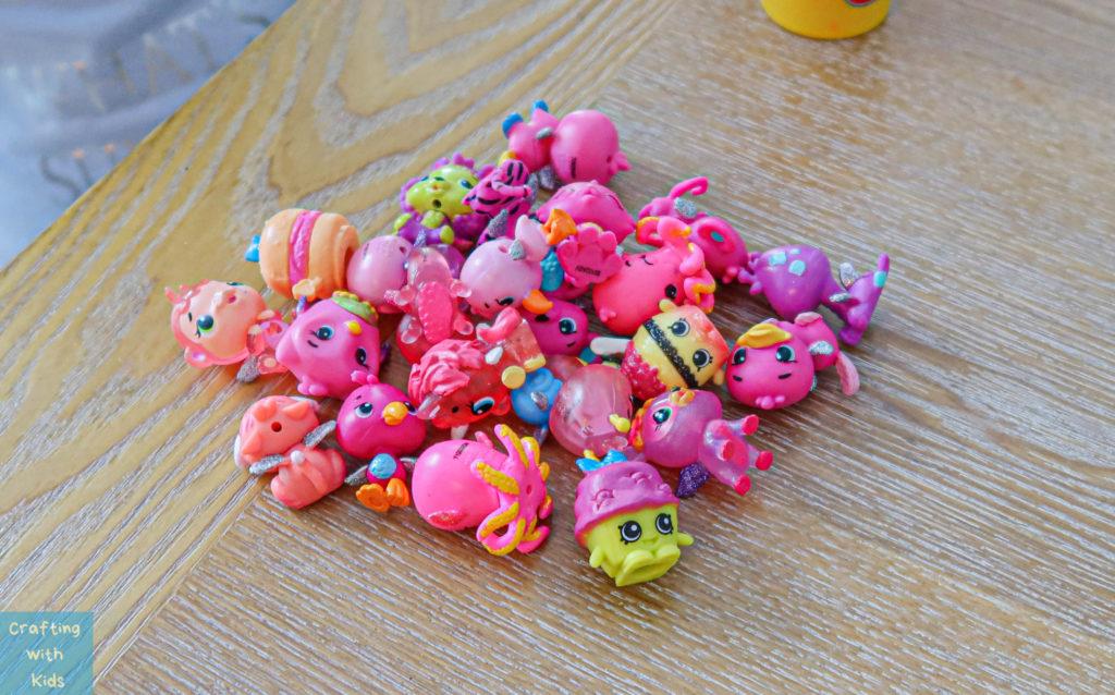 pink hatchimals and shopkins