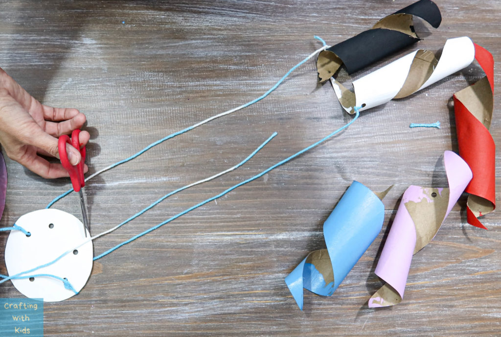 string in varying lengths