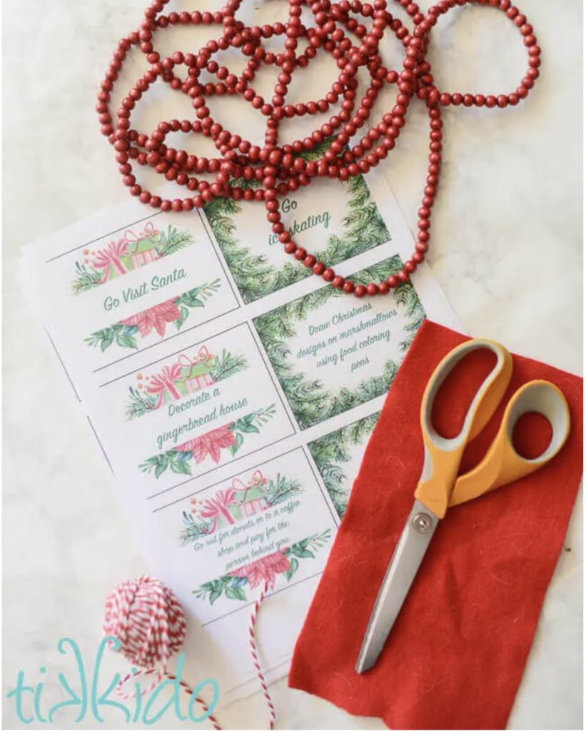 DIY printables for your Advent Calendar