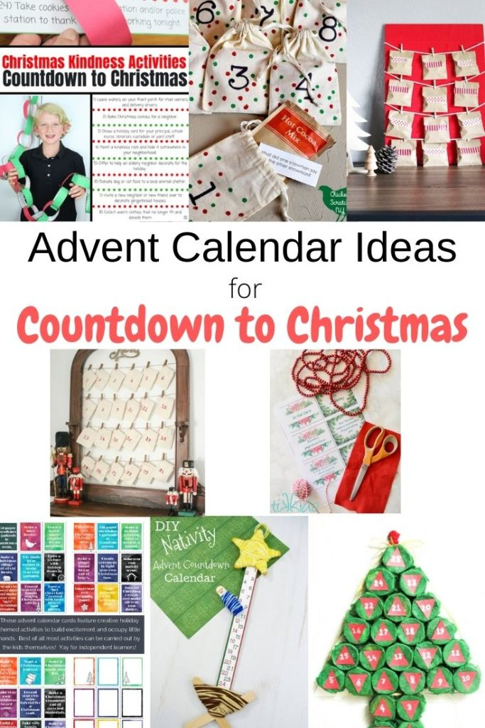 DIY advent calendars for countdown to Christmas