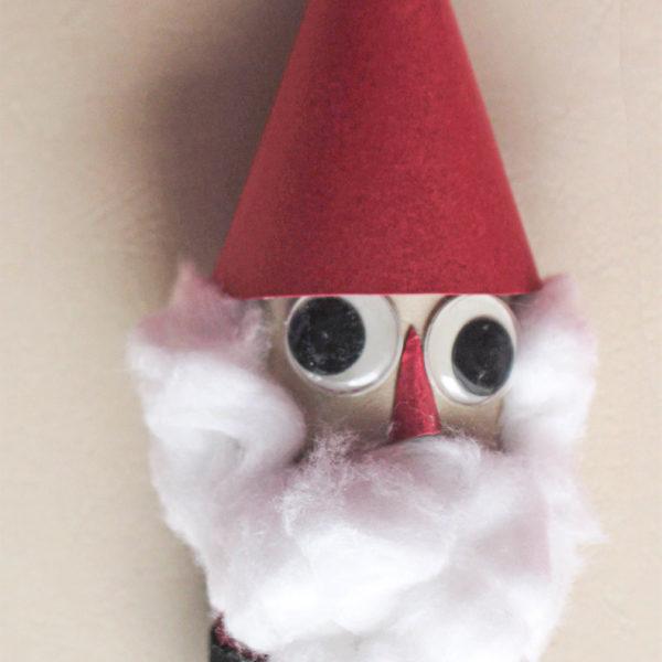 toilet paper roll Santa Claus