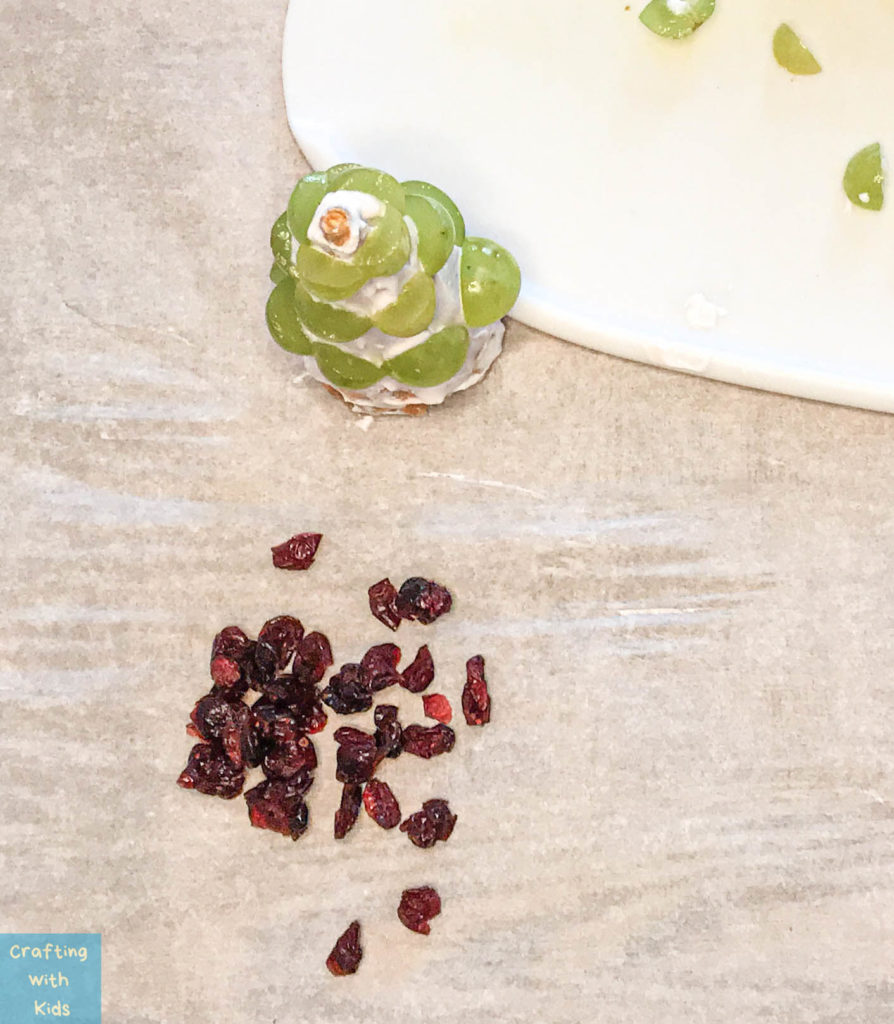 Healthy Edible Christmas Trees with Greek Yogurt and Fruit