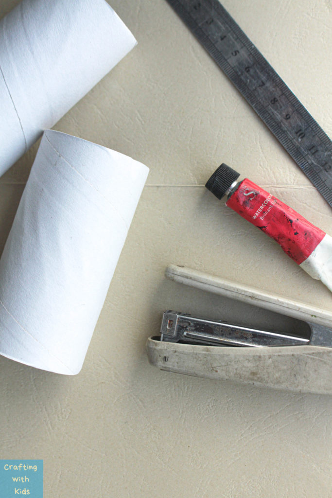 toilet paper roll heart stamp supplies