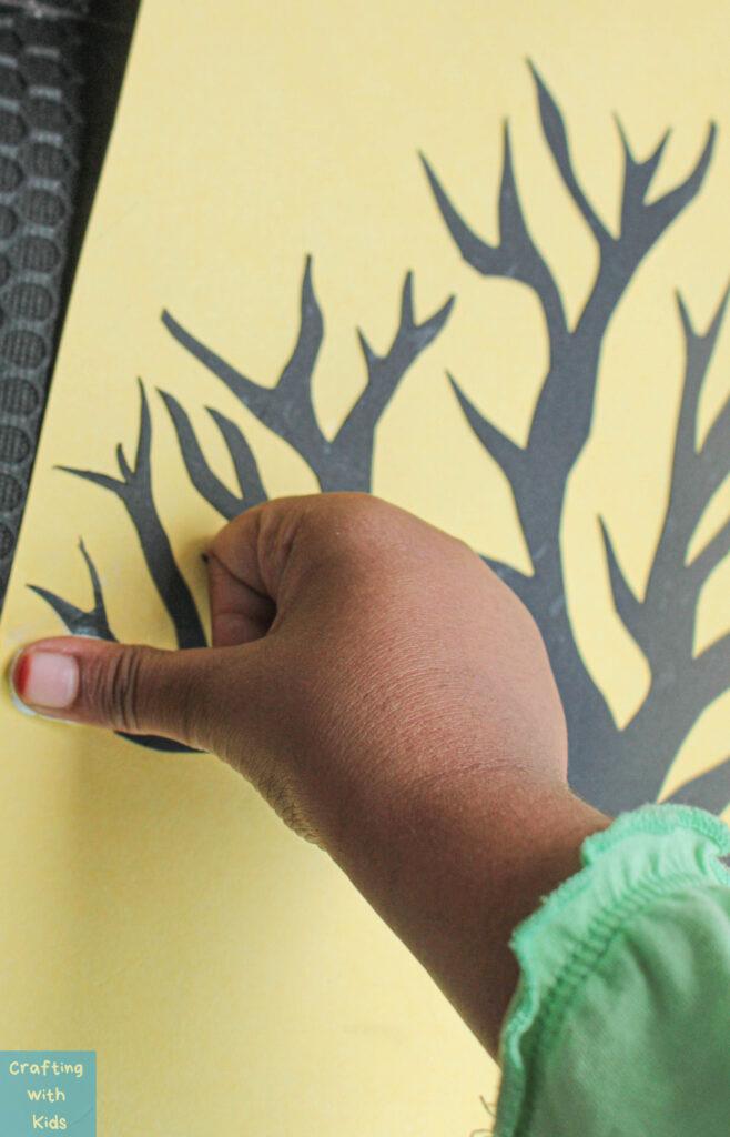 adding fingerprints to art