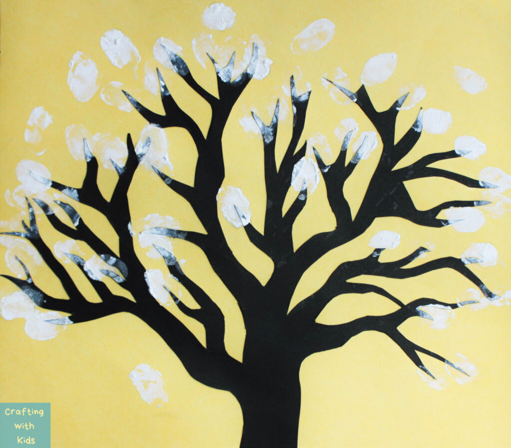 fingerprint tree for toddlers