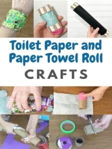 toilet paper roll crafts and paper towel roll crafts