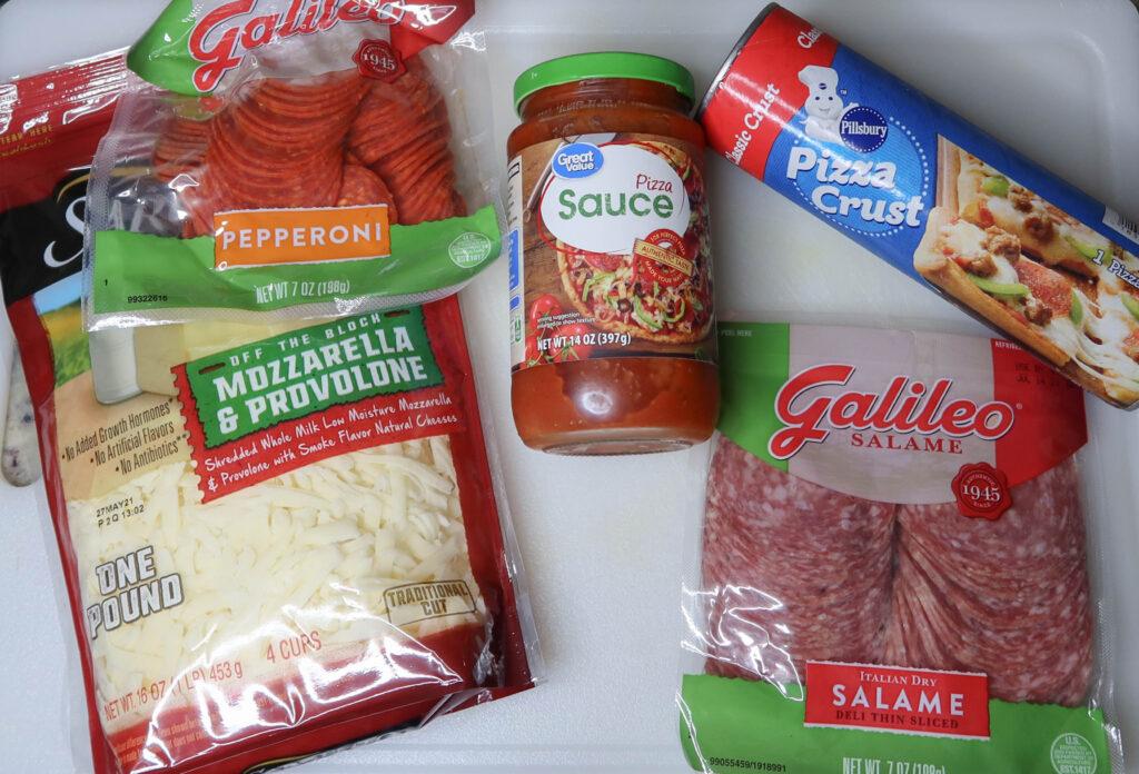 calzone pizza ingredients