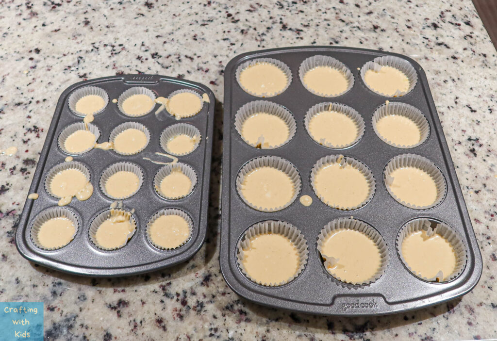 healthy muffins in muffin tins