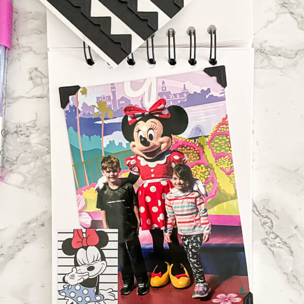 homemade Disney memory book