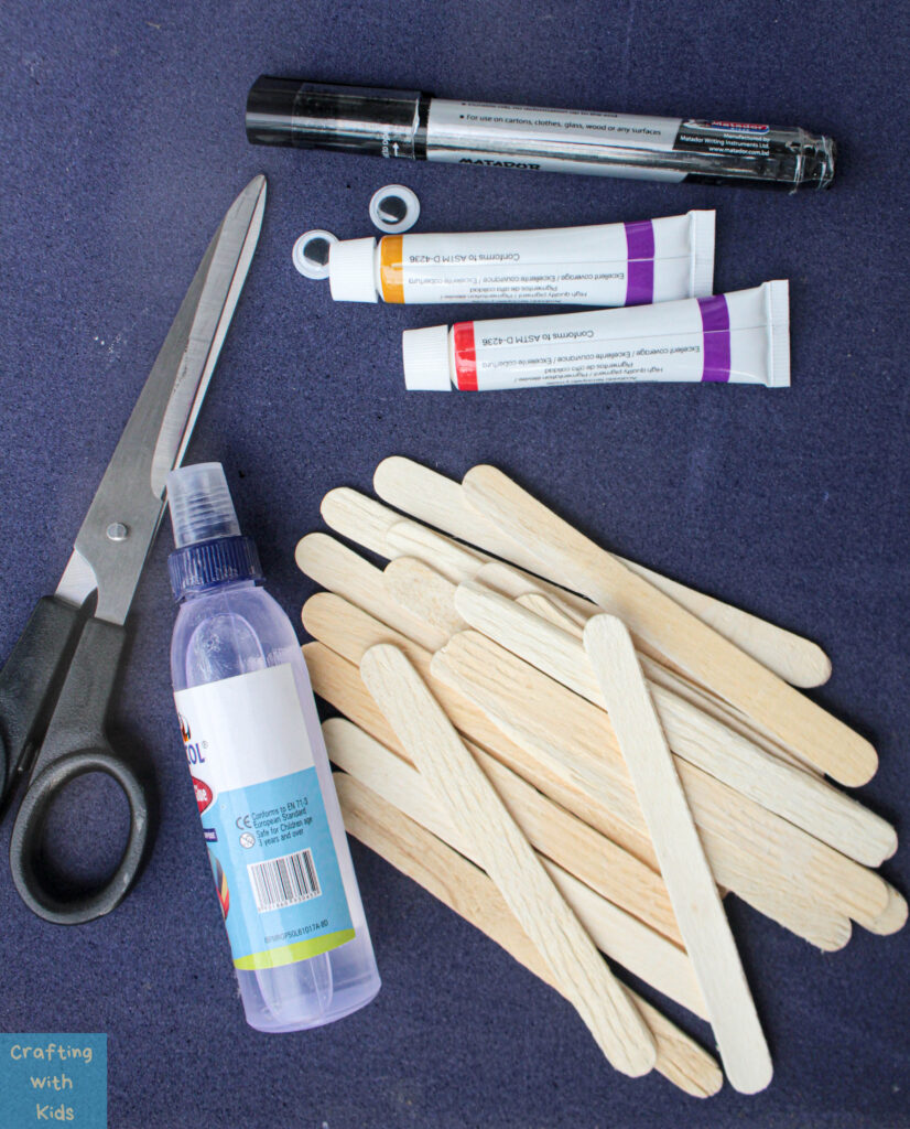 popsicle stick scarecrow supplies