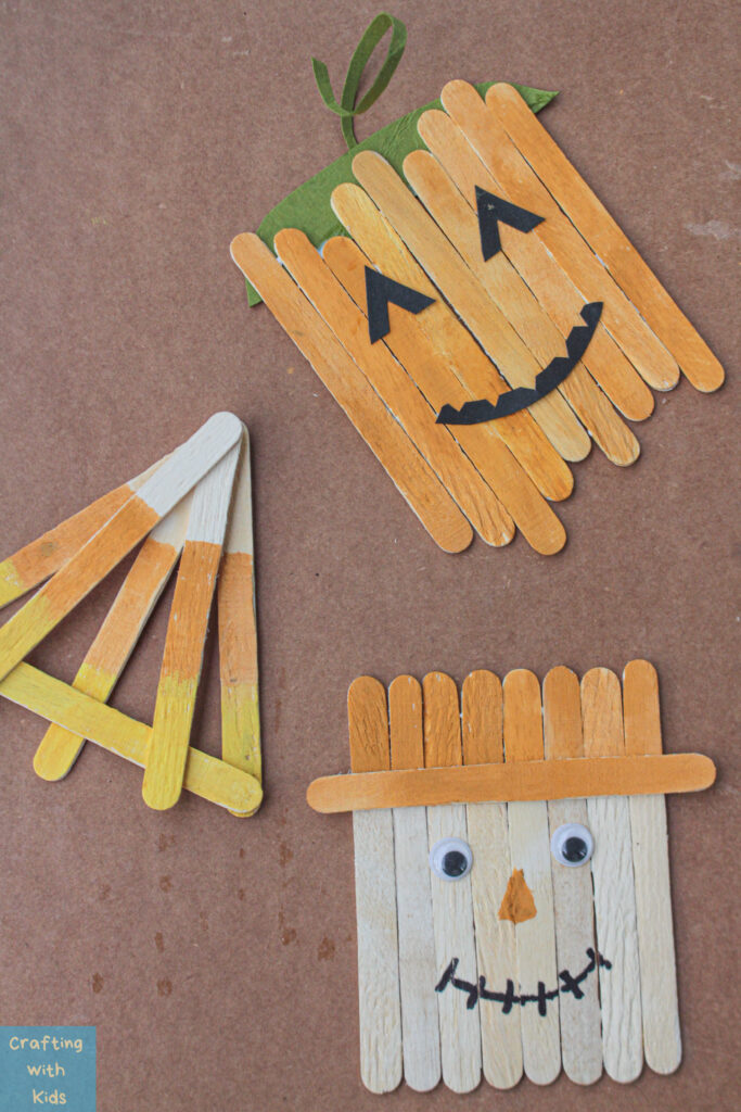 popsicle stick fall crafts