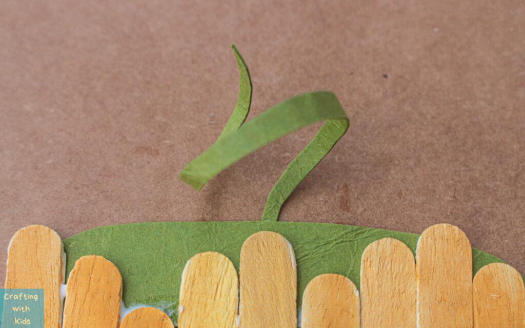 stem on popsicle sticks
