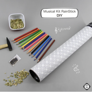 musical rainstick craft kit mandala