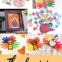 Thanksgiving handprint crafts for kids