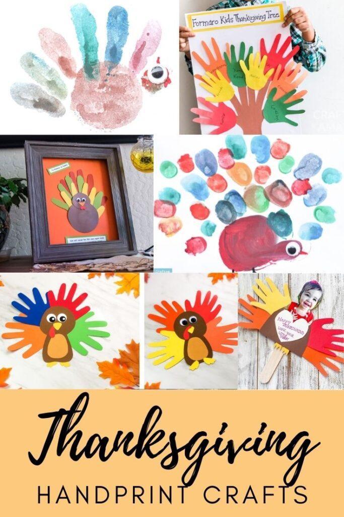 Thanksgiving Handprint Crafts