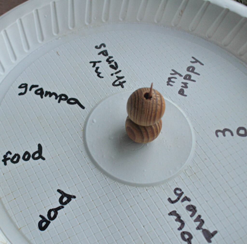 making paper plate craft