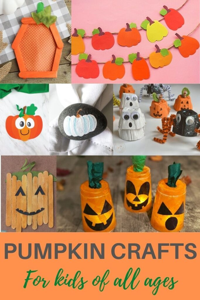 easy pumpkin crafts for kids of all ages